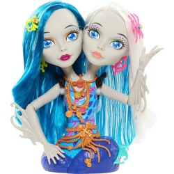 Monster High Peri and Pearl Serpentine Two-Headed Styling Head