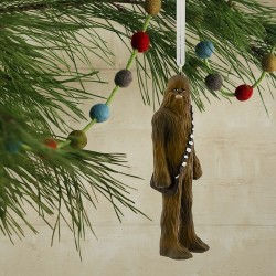 Hallmark Star Wars Chewbacca Christmas Tree Ornament