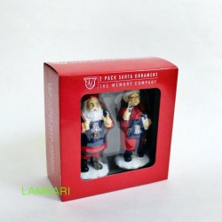 University of Arizona Wildcat 2-Pack Santa Christmas Tree Ornament