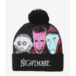 The Nightmare Before Christmas Oogie's Boys Pom Beanie