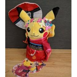 Pokemon Centerl Original Kimono Pikachu Maiko Geisha Plush