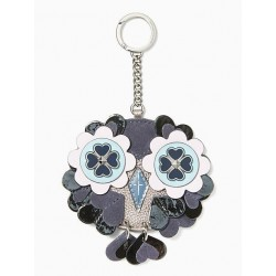 Kate Spade New York Nightcap Owl Leather Keychain Bag Charm