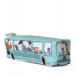 Don't Let The Pigeon Drive The Bus Canvas Pencil Case