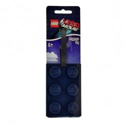 LEGO Movie Navy Blue Luggage Tag