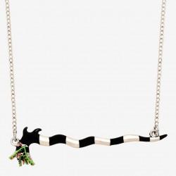 Beetlejuice Sandworm Necklace