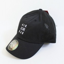 Air Jordan Unisex Men Women Black Cap Hat