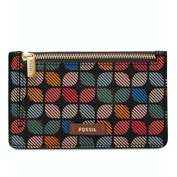 Fossil Logan Multi-Color Zip Coin Card Case