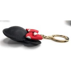 Kate spade New York Minnie Mouse Leather Bag Charm Keychain Keyfob