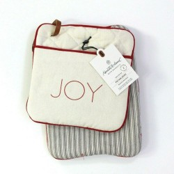 Hearth and Hand with Magnolia Joy Stripes Potholder Set of 2