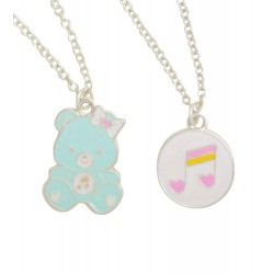 Care Bears Heartsong Bear Double Layer Necklace