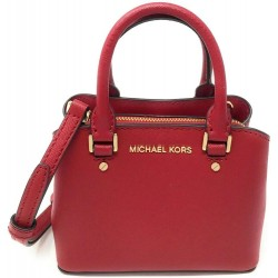Michael Kors Mini Savannah Saffiano Leather Crossbody Bag
