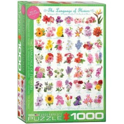 Eurographics The Language of Flowers Puzzle 1000 Pieces