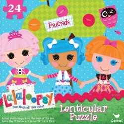 Lalaloopsy Sew Magical Leniticular 24-Piece Puzzle Set of 2 Packs