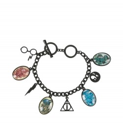 Harry Potter Symbols and Houses Multi Charm Bracelet