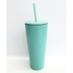 Starbucks Mint Green Stainless Steel Cold Cup Tumbler 16 Fl Oz