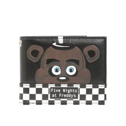 Five Nights at Freddy's Checkered Bifold Wallet