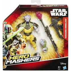 Star Wars Hero Mashers Rebels Garazeb Orrelios Figure