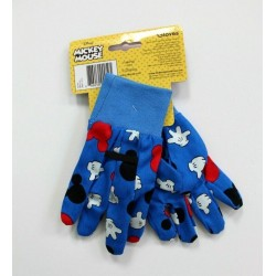 Disney Kids Mickey mouse Blue Gardening Gloves