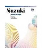 Suzuki Violin Books & CDs